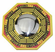 """6"""" Feng Shui LARGE TRADITIONAL CHINESE -CONVEX BAGUA OCTAGON MIRROR HOME DECOR."""