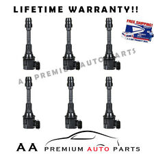PACK OF 6 PREMIUM IGNITION COILS FOR NISSAN ALTIMA MAXIMA MURANO QUEST 3.5L