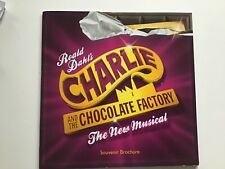 More details for charlie and the chocolate factory the new musical souvenir brochure warner 2013
