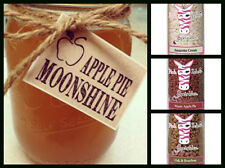 Pink Zebra Sprinkles Soy Wax Melts 3.75 oz. Jar Apple Pie Moonshine