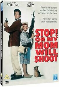 Stop! Or My Mom Will Shoot DVD (Sylvester Stallone, Estelle Getty ) Region 4 New