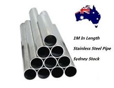"3.5"" Stainless Steel EXhaust Pipe ; 89mm Tube ;1M In Length;Sydney Stock"