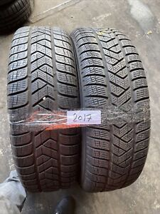 2X 215 70 R16  103H M+S Used  Pirelli 7/8mm (2017 ) Free Fitting Available