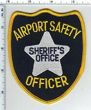 Airport Safety Officer (Broward Cty) Sheriff's Office (FL) shoulder patch 1990's