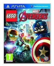 Lego Marvel Avengers PS Vita Game Pegi 7 Post Bri