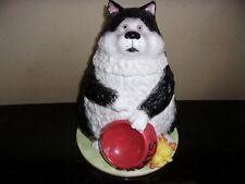 San Francisco Music Box - Cookie Jar/Music Box/Treat Jar - Angus The Cat -Nice!
