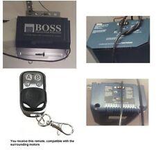 Remote control suits boss Steel-line OL43 BOL43 blue garage door opener
