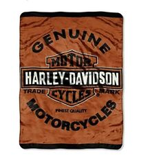 Harley Davidson Genuine Queen Mink Blanket
