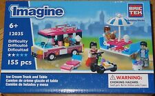 Ice Cream Truck and Table Imagine BricTek Building Block Toy 12035