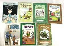 Lot of 7 AN I CAN READ HB Books Little Bear, Frog Toad, Newt, Morris, Golly ++