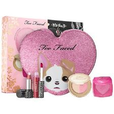 TOO FACED-KAT VON D~BETTER TOGETHER CHEEK & MAKEUP BAG SET--NIB