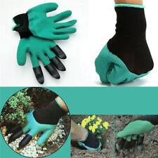 Gants de jardinage avec griffes pour planter, désherber, creuser NEUF