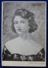 CARD - AUTORITRATTO CARMEN AMATO - ROMA