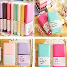 Mini Diary Notebook Writing Paper Journal Travel Pocket Planner Notepad  1Pcs JR
