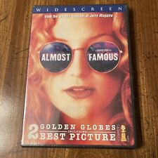 Almost Famous (DVD, 2001), Kate Hudson, Jason Lee, Billy Crudup NEW SEALED