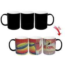 █ Led Zeppelin Rock Band Heat Sensitive Color Changing Magic Cup Mug BS027
