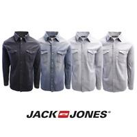 Jack & Jones Men's Sheridan Slim Fit Long Sleeve Denim Shirt
