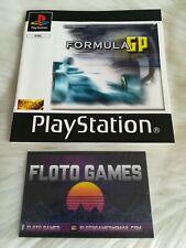 Notice de Formula GP pour Sony Playstation 1 PS1 - Floto Games