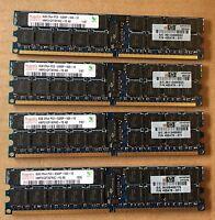 32GB (4x8GB) HP / Hynix PC2-5300P 667MHz 2Rx4 ECC SERVER RAM P/N 405478-071