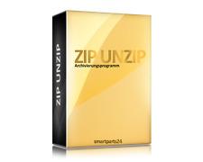 Winzip/unzip/winrar/ZIP/7zip/software/Pack programma