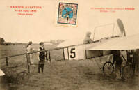 Louis Bleriot - Aviation Pioneer 1910 OLD ILLUSTRATION PHOTO