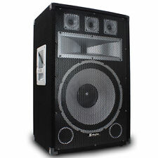 Passive Pro Audio PA Speakers with Top Hat