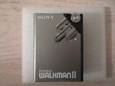 Vintage SONY WM-2 Stereo Walkman Cassette Player  - New Belt - Excellent