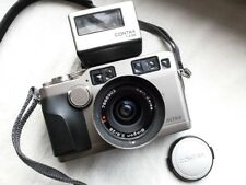 Contax G2 35mm Rangefinder with 28mm lens, flash and original strap EXCELLENT