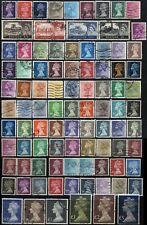 Great Britai 00004000 N Queen Elizabeth Postage Stamp Collection Machins Uk Used