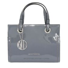 Borsa Donna Armani Exchange 942270 Grigio Shopping Bag AX bd9db893951