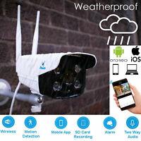 1080P Wireless WiFi IP CCTV Security Camera Outdoor Home Motion Sensor iPhone/PC