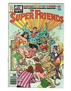 ⚡ The Super Friends No.1 A DC Key Comic Nov.1976 in Fine Grade Bronze-Age TV