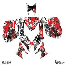 *NEW* SLED GRAPHIC KIT GRAPHICS WRAP FOR SKI-DOO REV XM 2013 2014 2015 SL0205