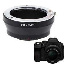 PK-M4/3 Adapter Mount Ring For Pentax PK Lens to Micro 4/3 Olympus Panasonic New