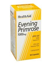 Health Aid Evening Primrose Oil 1000mg + Vitamin E <br> 90 caps