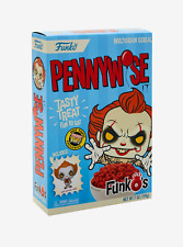 GOTHIC EXCLUSIVE FUNKO IT PENNYWISE CLOWN FUNKO'S CEREAL AND POCKET POP
