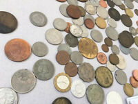 Unsearched Lot Mixed Vintage Coins Mamluk France Germany And More