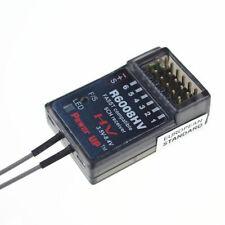 R6008HV 2.4G 6CH Receiver for Futaba FASST 6EX 7C TM-7 TM-8 T8FG T10C TM-10 T10C