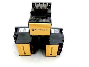 3 OF ALLEN BRADLEY 150-A05NB SMC-2 MOTOR CONTROLLER 3PH 380-480VAC 50/60HZ 3HP