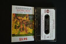 ELECTRIC BOYS ALL LIPS N HIPS RARE NEW ZEALAND CASSETTE SINGLE!