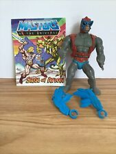 1981 He-man Masters Of The Universe Stratos Action Figure Complete Comic