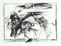 Informel, 1965. Lithographie Armin SANDIG (1929-2015 D), handsigniert