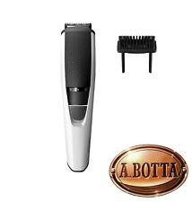 Rasoio Elettrico Ricaricabile Regola Barba Philips BT3206/14 Bianco Beartrimmer