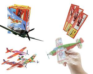 20x Styroporflieger / Wurfgleiter / Mitbringsel Gleitflugzeuge Styroporflugzeuge
