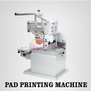 Pad Printing Printer Press Machine Single Color Pen Ball Label PVC Cup Gift Logo