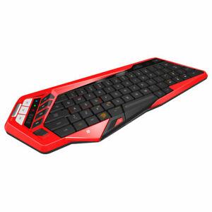 teclado Bluetooth Mad Catz STRIKE M Rojo Win Android Mac