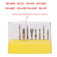 Dental Diamond Burs FG114 Composite Polishing FG Kit For High Speed Handpiece