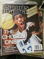 Lebron James NO LABEL Sports Illustrated Magazine SI Basketball Cavs 2/18/2002