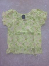 Gap Kids, Green Short Sleeved Tunic Top, Age 4–5 Years