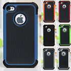 Shockproof Rubber Hard Silicone Skin Case Cover Case For Apple iPhone4/4S 5/5S